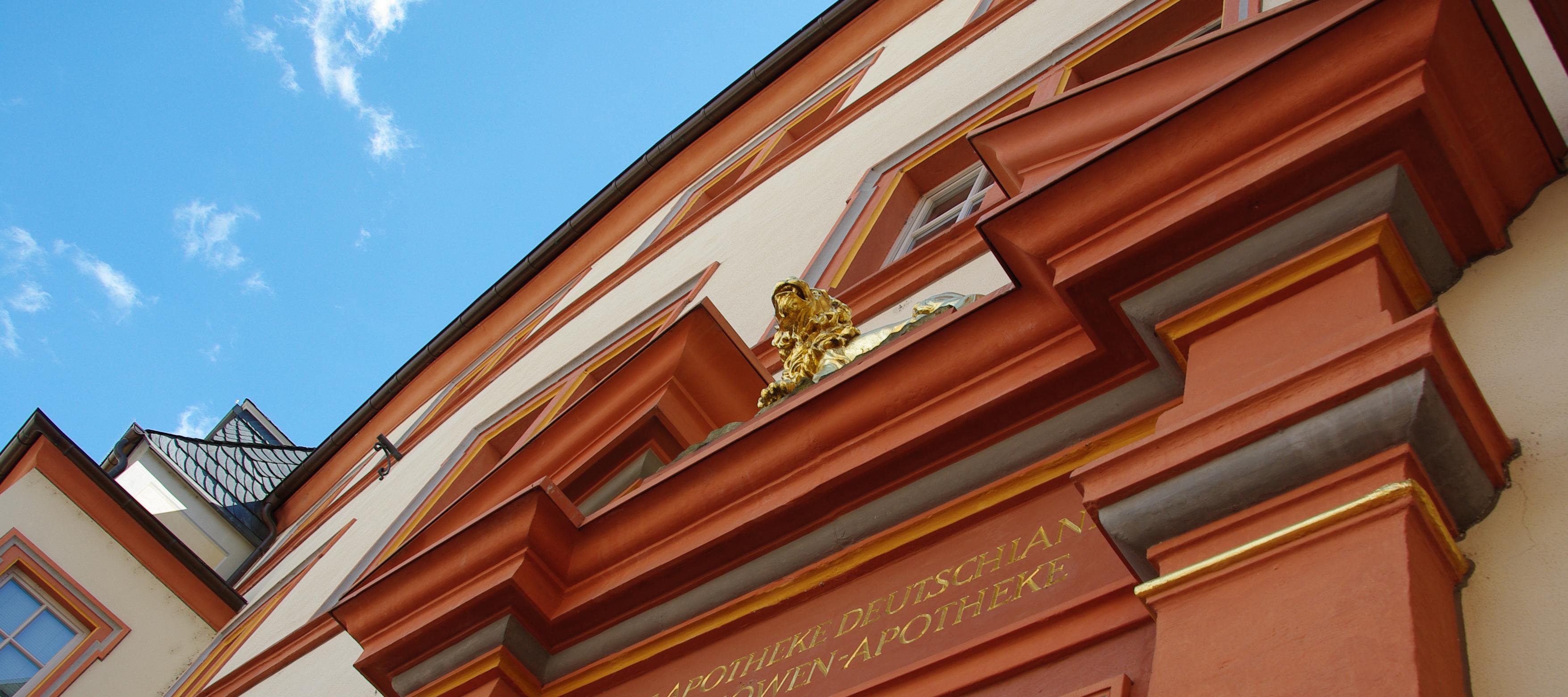 Löwenapotheke Hauptmarkt Fassade